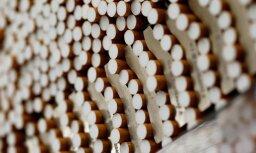 Латгалия: на табачной фабрике нелегально производили сигареты для Швеции и ФРГ