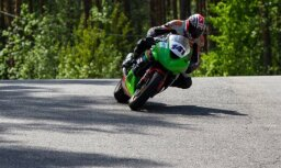 Latvijas motošosejas braucējam Eglītim augsta vieta Skandināvijas čempionātā