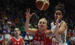 Titula īpašnieces serbietes izglābjas no fiasko Eiropas čempionātā