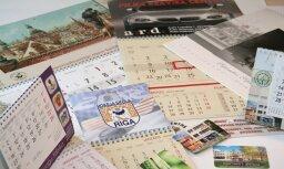 Plašākā kalendāru izvēle 2017. gadam A.Zariņa zīmogu fabrikā