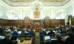 Депутатам Сейма за апрель выплачено 216 864 евро: названы самые крупные зарплаты