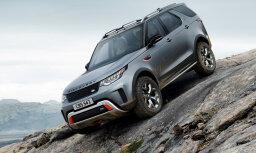 'Land Rover Discovery' versija 'SVX' braukšanai bezceļos