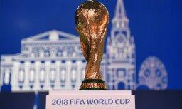 Таможенники нашли в шинах из Латвии более тысячи поддельных плакатов FIFA