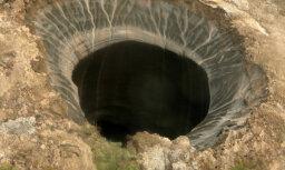 Геологи объяснили появление гигантских кратеров в Сибири