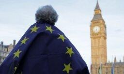"""Палата лордов одобрила закон о запуске """"брекзита"""""""