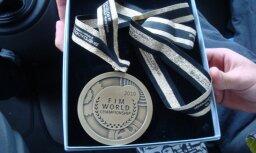 Jauna bronzas medaļa Latvijai