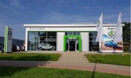 'Škoda' paplašina dīleru tīklu Latvijā ar jaunu autosalonu Valmierā