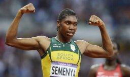 Semenja atkārto Mutolas panākumu un kļūst par trīskārtēju pasaules čempioni 800 m skrējienā
