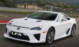Japāņi trijos mēnešos izpirkuši visus 'Lexus LF-A' superauto
