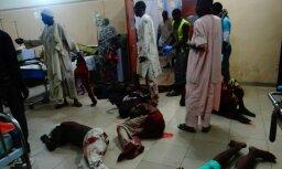 Nigērijā uzspridzinās trīs pašnāvnieces, nogalinot vismaz 20 cilvēkus