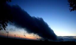 Vētras mākoņi Ezerē