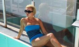 Agnese Zeltiņa no vasaras atvadās ar valdzinošu foto