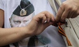 Krievijas paralimpieti diskvalificē par Putina portretu uz krekla
