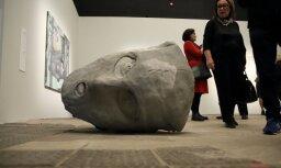 """ФОТО: В Риге открылась выставка современного искусства Израиля """"Мечты и драмы"""""""