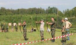 Aizvadītas militārās sporta spēles skolu jauniešiem