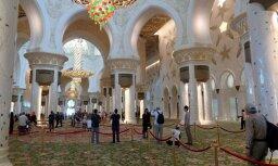 Турист: уникальное украшение города Абу Даби - мечеть для 40 тысяч человек (+ фото)