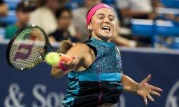 Ostapenko zaudējums Sinsinati WTA 'Premier' turnīra pirmajā kārtā