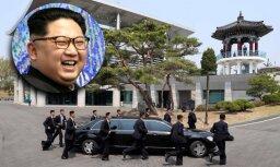 Pasauli uzjautrina Kima Čenuna žiperīgie miesassargi