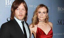 Skaistākā vācu aktrise un 'Staigājošo miroņu' zvaigzne kļuvuši par pāri