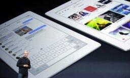 'Apple' prezentē jauno 'iPad' planšetdatoru paaudzi