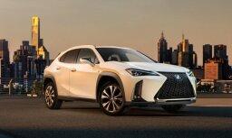 'Lexus' parādījis savu mazāko apvidnieku 'UX'