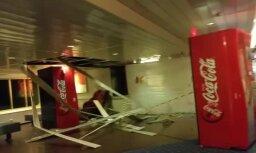 Video: Cik bīstami vētras laikā bija atrasties uz 'Isabelle' klāja