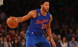 Rouzs par neierašanos uz 'Knicks' spēli sodīts ar teju 200 tūkstošiem dolāru