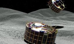 Японские роботы совершили посадку на астероид Рюгу и прислали фото