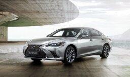 'Lexus GS' modeli aizstāj jaunais 'ES' uz 'Toyota Camry' bāzes