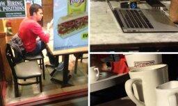 Секретные фото: сотрудники Apple тестируют iWatch