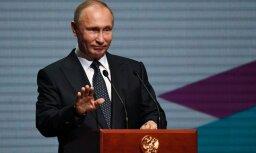 Kremlis noliedz ziņas par plānotu Trampa un Putina tikšanos