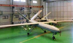ASV iznīcinātājs Sīrijā notriecis jau otro irāņu dronu