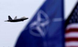 На минувшей неделе дежурящие в Балтии истребители НАТО сопровождали самолеты России