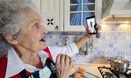 Foto: Slavu iemanto vecmāmiņa Vaļa no Krasnodaras