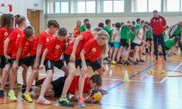 'Sporto visa klase' stafetēs uzvarējušie - līderi arī kopvērtējumā