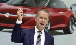 VW: bargu auto izplūdes gāzu samazināšanas mērķu dēļ var nākties likvidēt 100 tūkstoš darbvietu