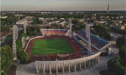 'Daugavas' stadionā uzsākta projekta otrās kārtas īstenošana