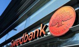 Naktī iespējami pārtraukumi 'Swedbank' karšu un internetbankas darbībā