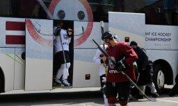 Latvijas hokeja izlases spēlēm plāno sekot pēdējos gados mazākais cilvēku skaits, liecina aptauja