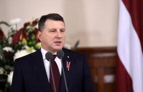 президент Раймонд Вейонис