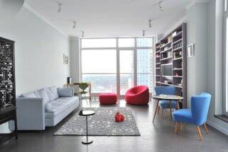 Drosmīgi un koši – četri Rīgas centra dzīvokļi