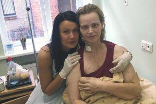 Baibai kļūst sliktāk. Aknu transplantācijai savākti jau 10 tūkstoši eiro