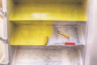 Defekti par efektiem – problēmsituācijas mājoklī, kuras var labot ar krāsošanu