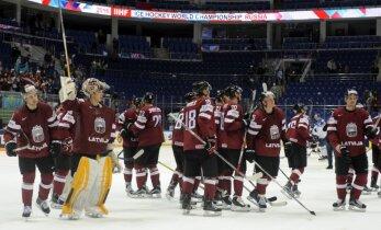 Zināmi Latvijas hokeja izlases pretinieki 2017. gada PČ