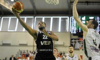 'VEF Rīga' basketbolisti nonāk uzvaras attālumā no Latvijas čempionu titula