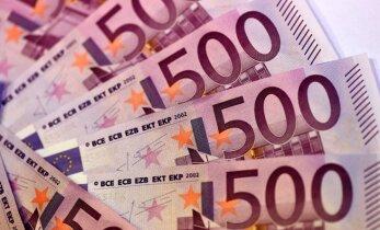 ECB paziņo par 500 eiro banknotes likvidēšanu