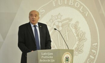 Mežeckis saglabā LFF ģenerālsekretāra amatu līdz 2020.gadam