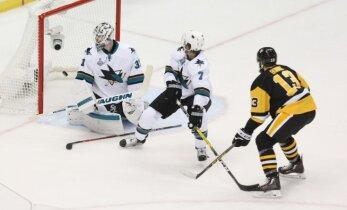 Stenlija kausa fināls sākas ar Pitsburgas 'Penguins' uzvaru