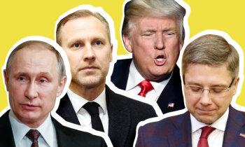 Трамп-нарцисс, Путин-губка, Гобземс-бандит и good guy Ушаков.