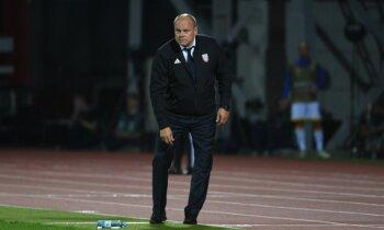 Latvijas futbola izlases galvenā trenera jautājums joprojām paliek neatrisināts